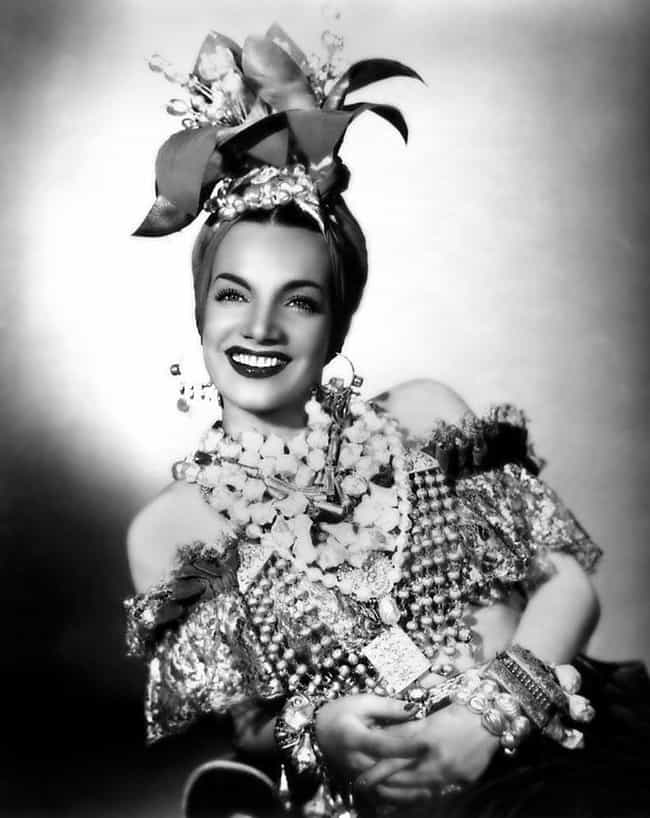 Carmen Miranda is listed (or ranked) 3 on the list Entertainers Who Died While Performing
