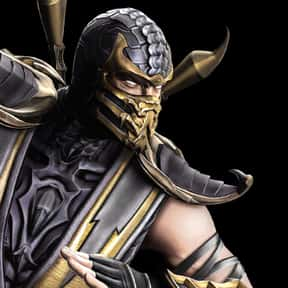 Scorpion is listed (or ranked) 1 on the list The Greatest Mortal Kombat Characters