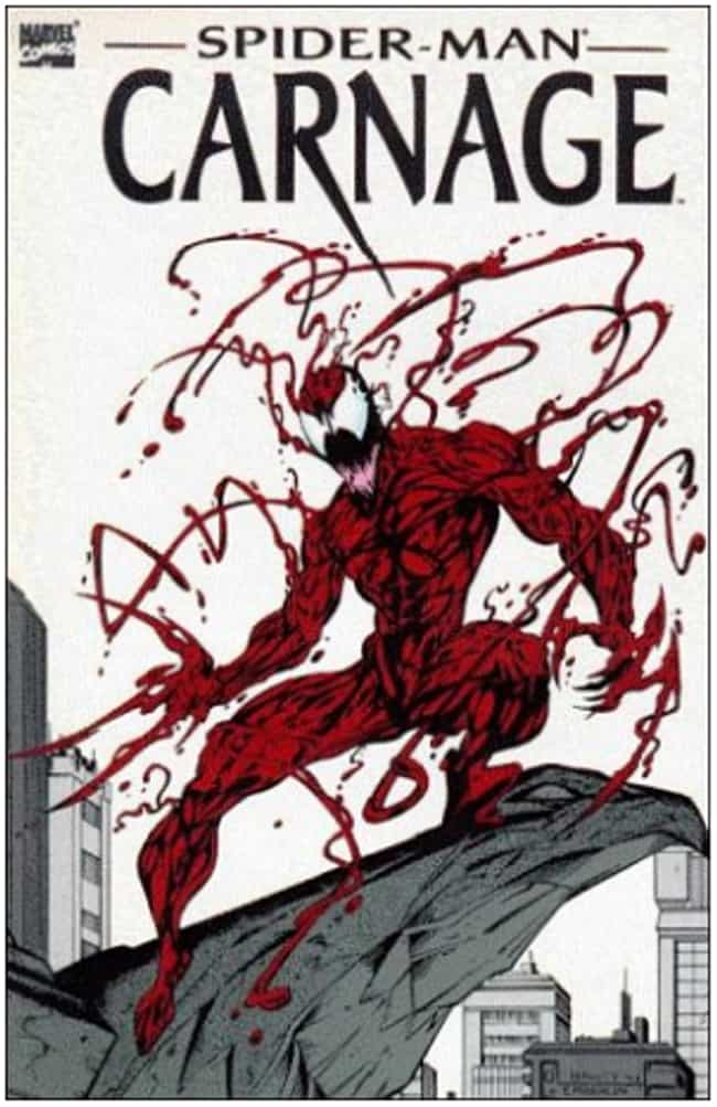 Carnage is listed (or ranked) 2 on the list The Craziest Comic Book Characters, Ranked