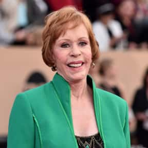 Carol Burnett is listed (or ranked) 25 on the list The Greatest Entertainers of All Time
