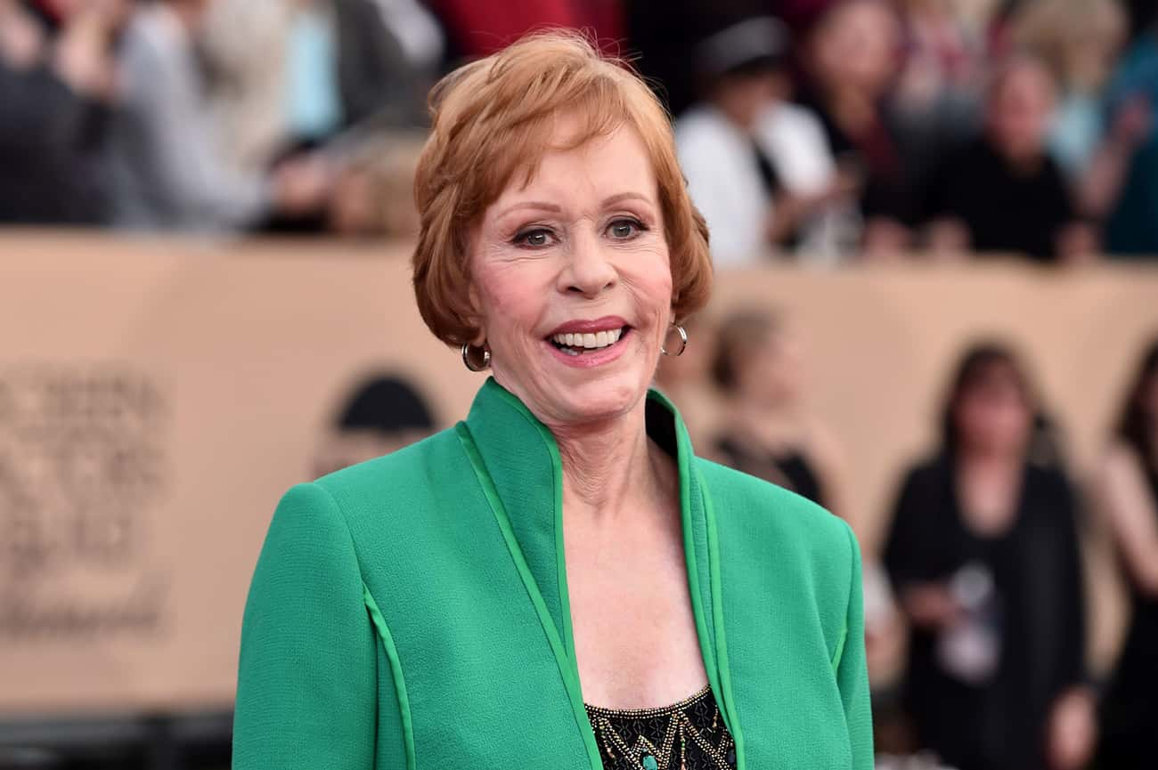 Carol Burnett is listed (or ranked) 2 on the list Famous People Born in 1933