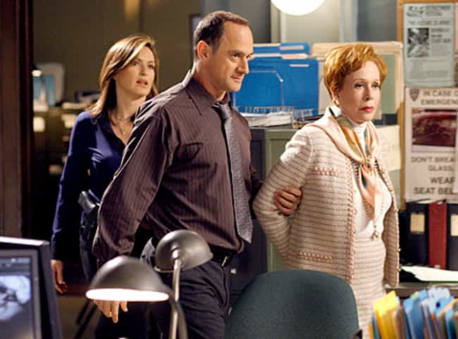 Carol Burnett is listed (or ranked) 3 on the list The Best Law & Order SVU Guest Stars