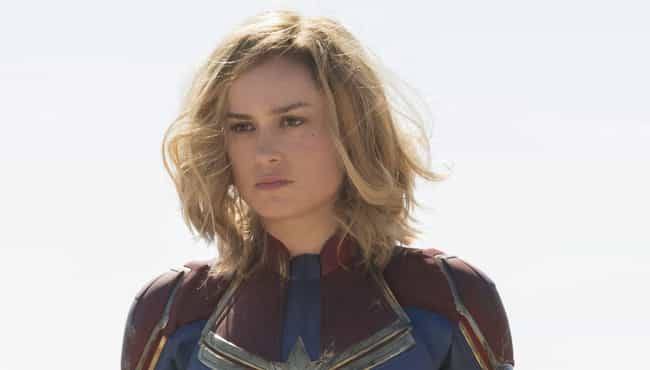 Captain Marvel (Carol Da... is listed (or ranked) 4 on the list The Busiest Characters In The MCU