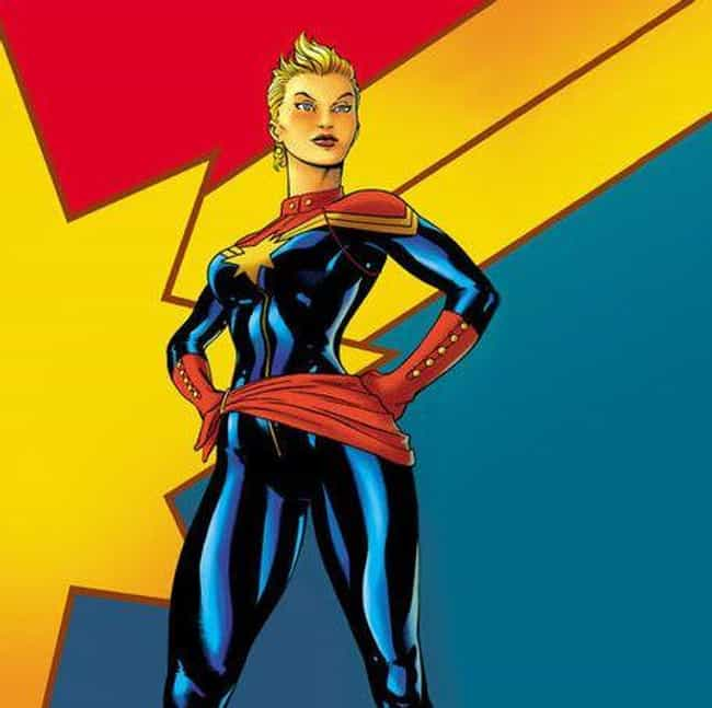 Captain Marvel (Carol Danvers) is listed (or ranked) 6 on the list Superhero Replacements Who Are Way Better Than Their Predecessors
