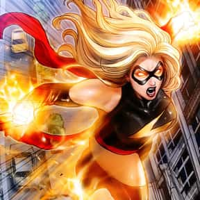 Ms. Marvel a.k.a. Binary, Warb is listed (or ranked) 21 on the list List Of All Marvel's Avengers