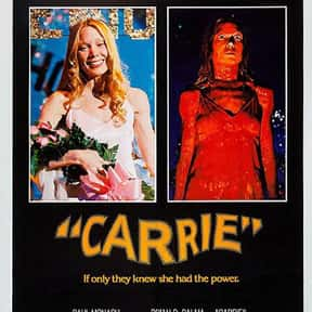 Carrie is listed (or ranked) 18 on the list The Best John Travolta Movies