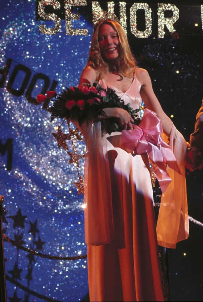 Carrie is listed (or ranked) 1 on the list The Most Memorable Prom Dresses In Movies