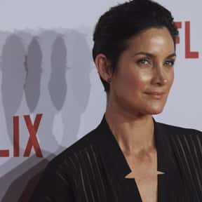Carrie-Anne Moss is listed (or ranked) 22 on the list Famous Vegetarians and Vegans