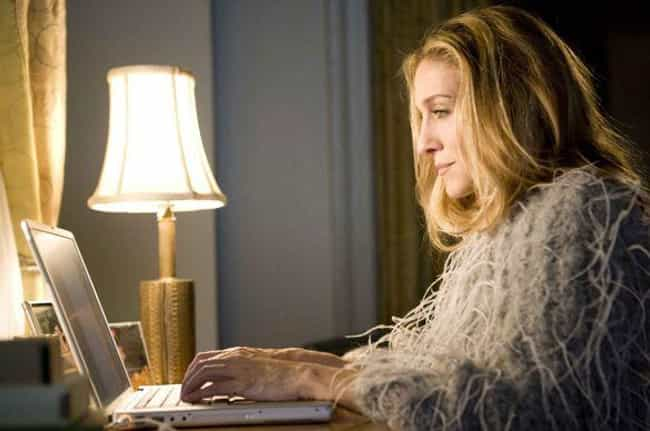 Carrie Bradshaw is listed (or ranked) 2 on the list 18 Fictional Writers Who Are Obviously Terrible At Writing