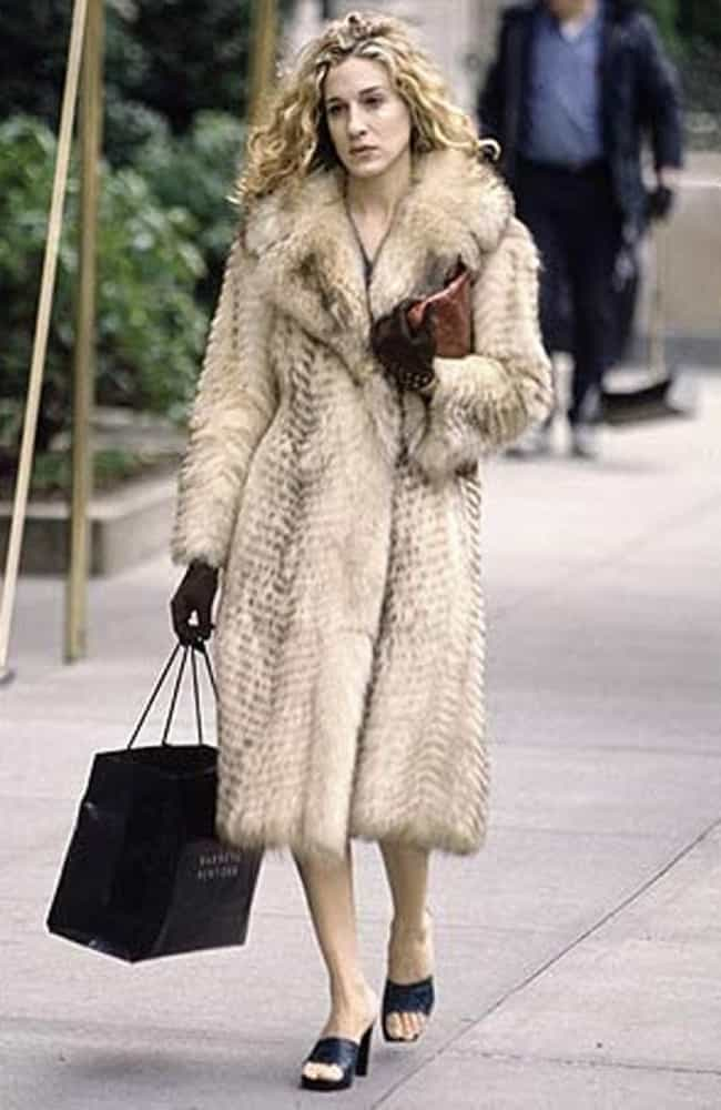 Carrie Bradshaw is listed (or ranked) 2 on the list The Best Fur Coats in Pop Culture