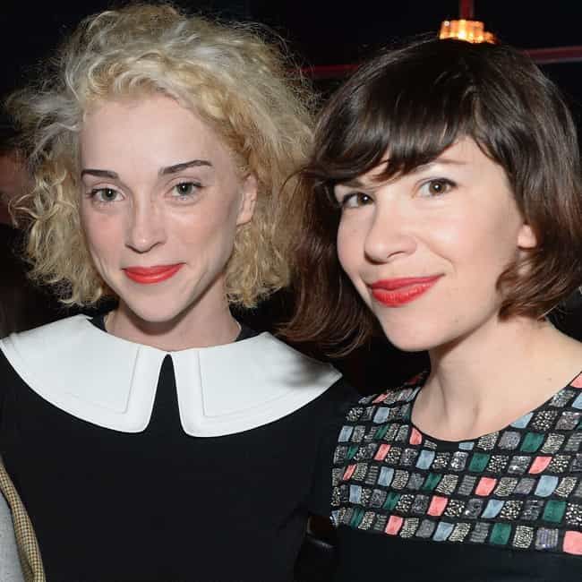 Carrie Brownstein is listed (or ranked) 3 on the list St. Vincent Loves and Hookups