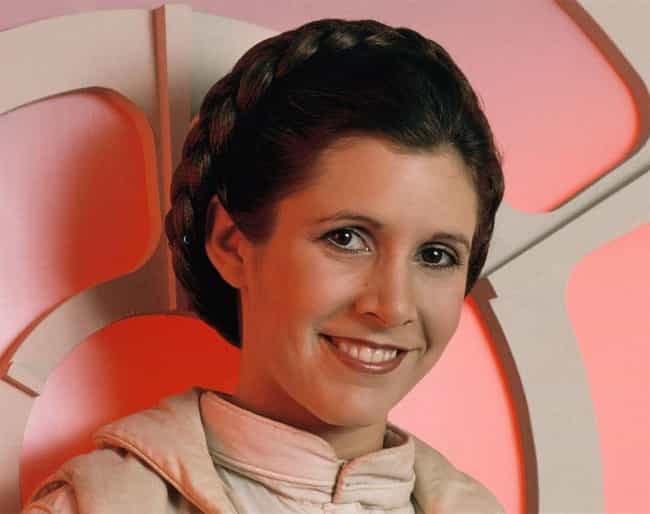 Carrie Fisher is listed (or ranked) 2 on the list 52 Famous Women Who Used to Be Girl Scouts