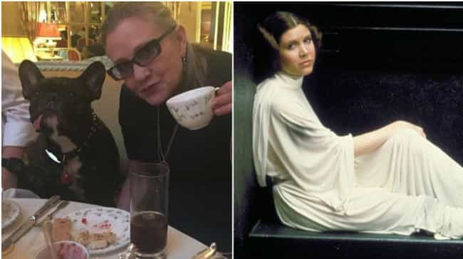 Carrie Fisher is listed (or ranked) 2 on the list 13 Actresses Known for Roles Opposite to Who They Are in Real Life