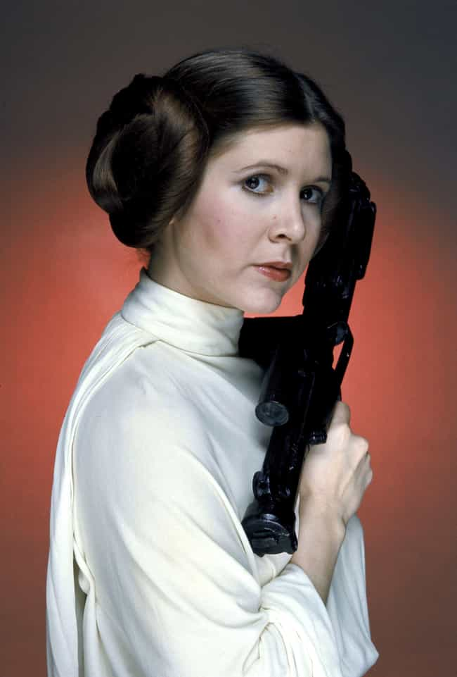 Carrie Fisher is listed (or ranked) 1 on the list Famous People Born in 1956