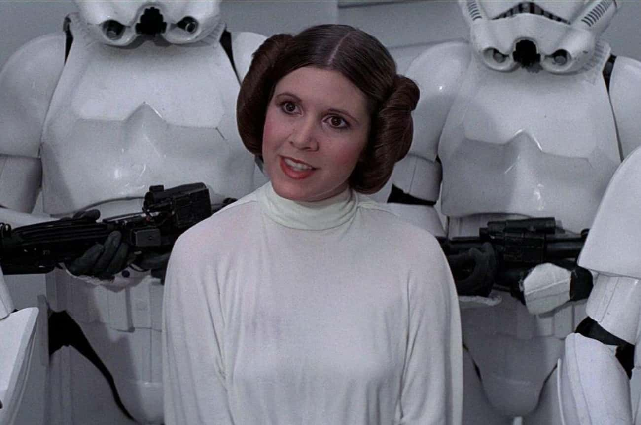 1977 – Carrie Fisher is listed (or ranked) 3 on the list Who Was The Most Famous Actor The Year You Were Born?