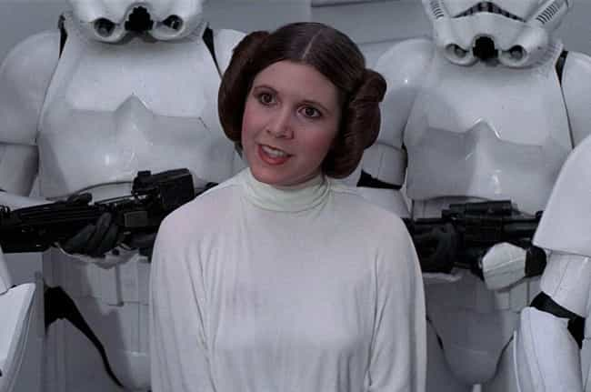 Carrie Fisher is listed (or ranked) 3 on the list Who Was The Most Famous Actor The Year You Were Born?