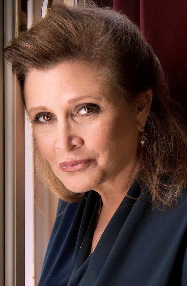 Carrie Fisher is listed (or ranked) 2 on the list 20 Famous Women Who Used to Be Girl Scouts