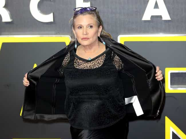 Carrie Fisher is listed (or ranked) 1 on the list Awesome Celebrities Who Shut Down Their Body Shamers