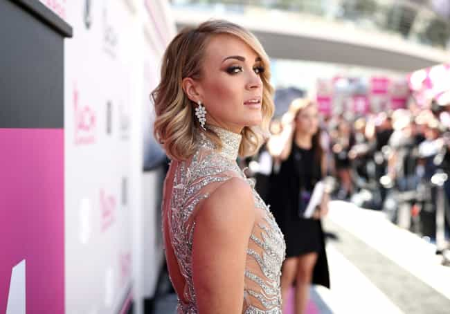 Carrie Underwood is listed (or ranked) 4 on the list The Most Beautiful Native American Women