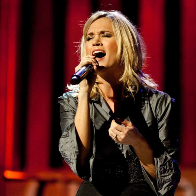 Carrie Underwood is listed (or ranked) 3 on the list Female Celebrities Who Are 5'3