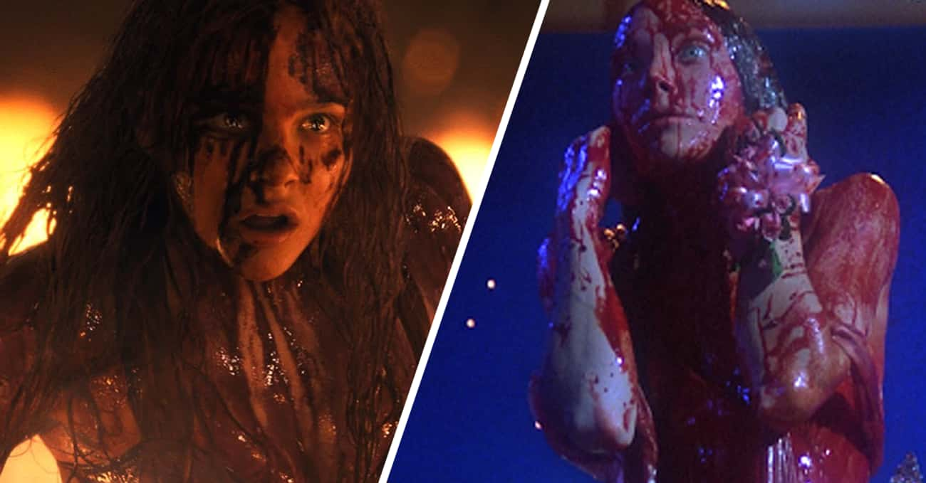 Carrie is listed (or ranked) 3 on the list Horror Movie Monsters: Remakes Vs. Originals