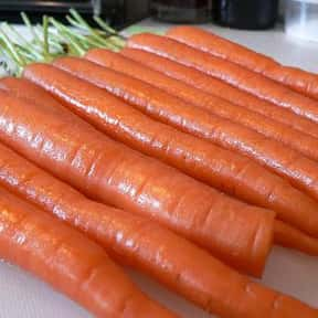 Carrot is listed (or ranked) 9 on the list The Healthiest Superfoods