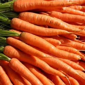 Carrot is listed (or ranked) 3 on the list The Tastiest Vegetables Everyone Loves Eating