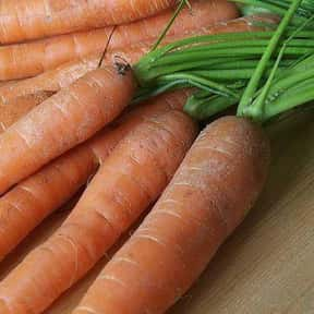 Carrot is listed (or ranked) 4 on the list The Best Garden Vegetables to Eat