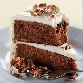 Carrot cake is listed (or ranked) 8 on the list Every Single Type of Cake, Ranked by Deliciousness