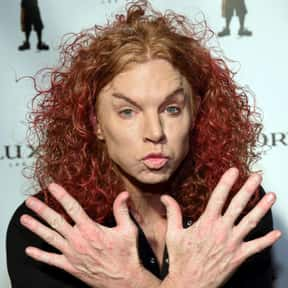 Carrot Top is listed (or ranked) 16 on the list Annoying Celebrities Who Should Just Go Away Already