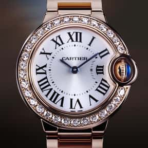 Cartier is listed (or ranked) 15 on the list The Best Watch Brands