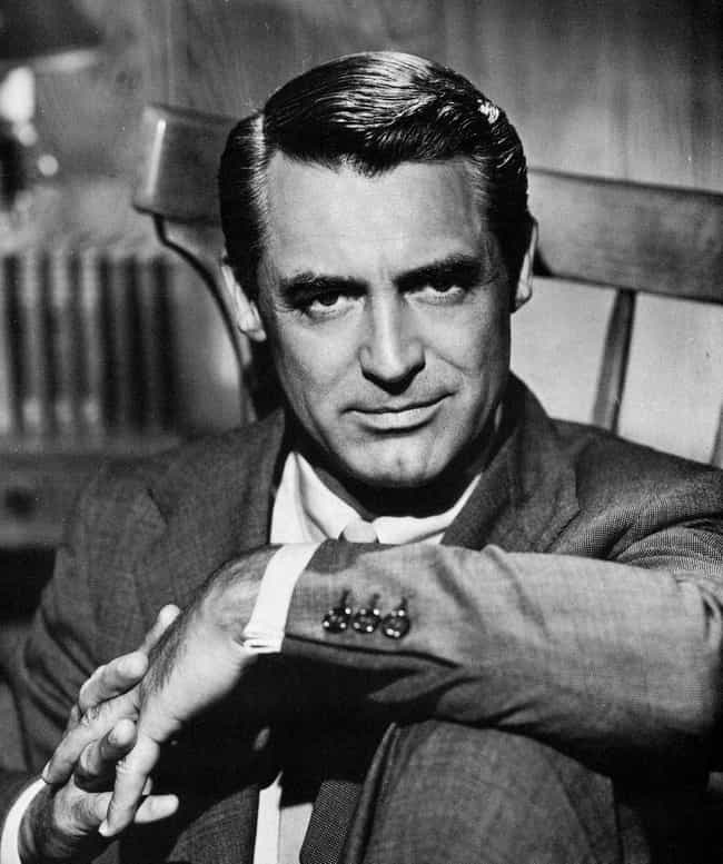 Cary grant is listed or ranked 3 on the list 36 famous movie stars