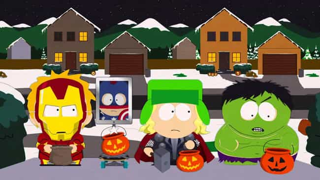 A Nightmare on Face Time is listed (or ranked) 1 on the list The Best Halloween Episodes On South Park