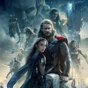 Thor: The Dark World is listed (or ranked) 17 on the list The Best PG-13 Fantasy Movies