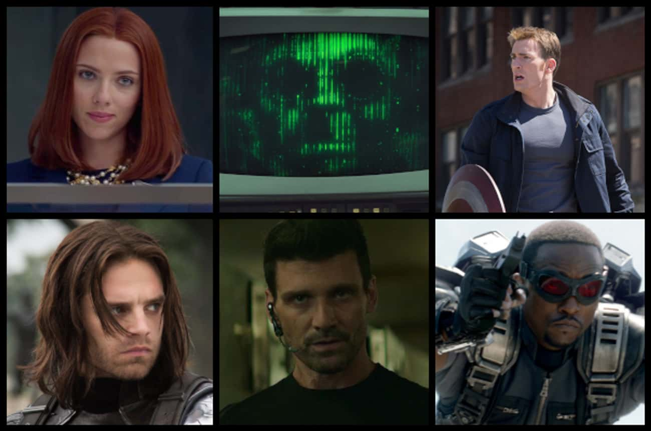 Captain America: The Winter So is listed (or ranked) 4 on the list What Are The Best Superhero Movie Casts Ever Assembled?