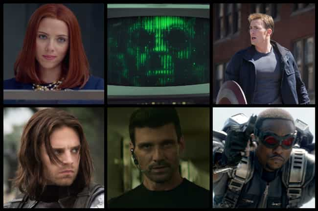 Captain America: The Win... is listed (or ranked) 4 on the list What Are The Best Superhero Movie Casts Ever Assembled?
