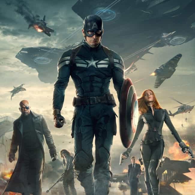 Captain America: The Winter So... is listed (or ranked) 4 on the list The Best Movies In The Marvel Cinematic Universe, Ranked