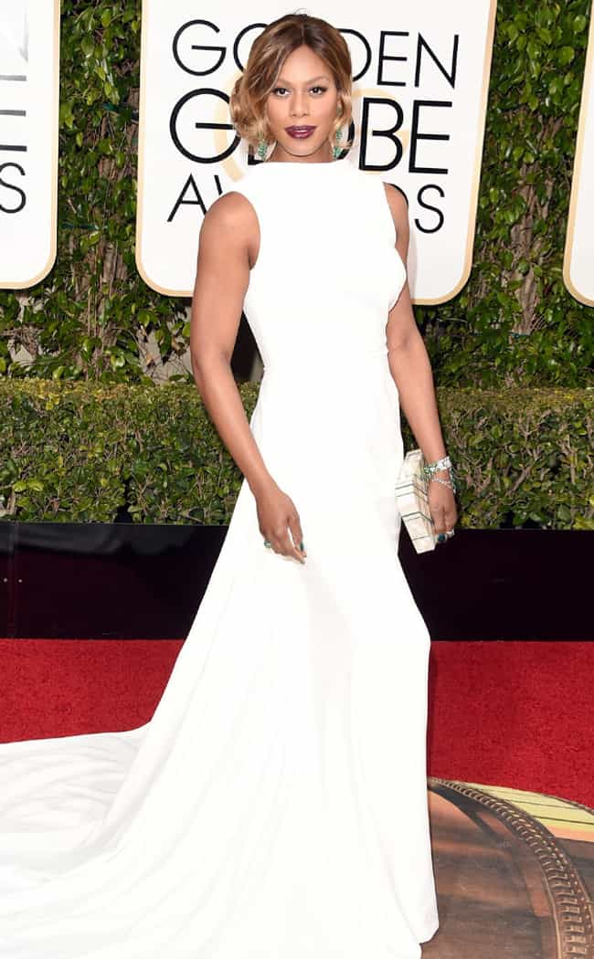 Laverne Cox is listed (or ranked) 1 on the list The Most Stunning Looks at the 2016 Golden Globes