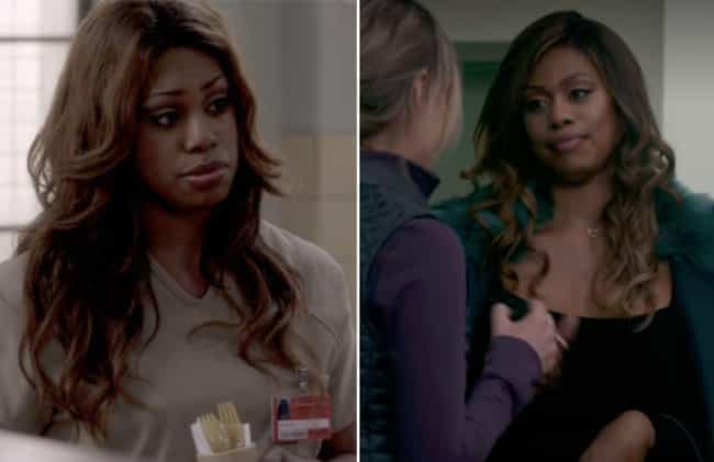 Laverne Cox is listed (or ranked) 3 on the list How the Cast of Orange Is the New Black Aged From The First To The Last Season