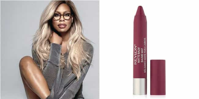 Laverne Cox is listed (or ranked) 5 on the list Drugstore Beauty Products That Celebrities Love