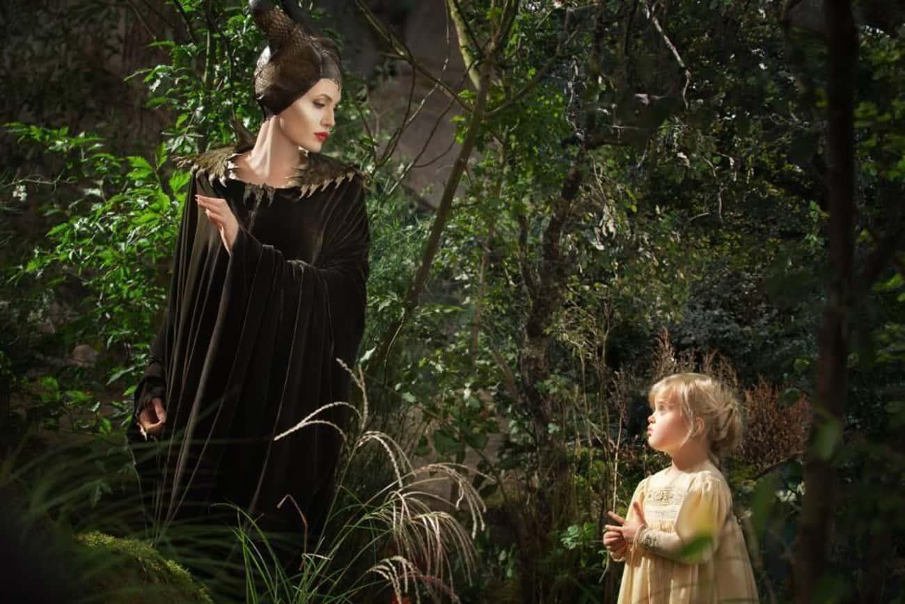 'Maleficent' - Angelina Jolie & Vivienne Jolie-Pitt
