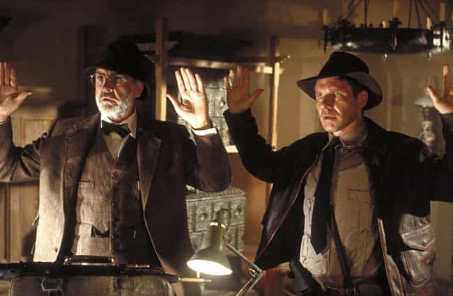 Indiana Jones and the La... is listed (or ranked) 3 on the list 12 Great Movie Heroes That Should Have Stayed Home
