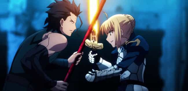 Fate/Zero is listed (or ranked) 1 on the list The 15 Best Anime Prequels of All Time