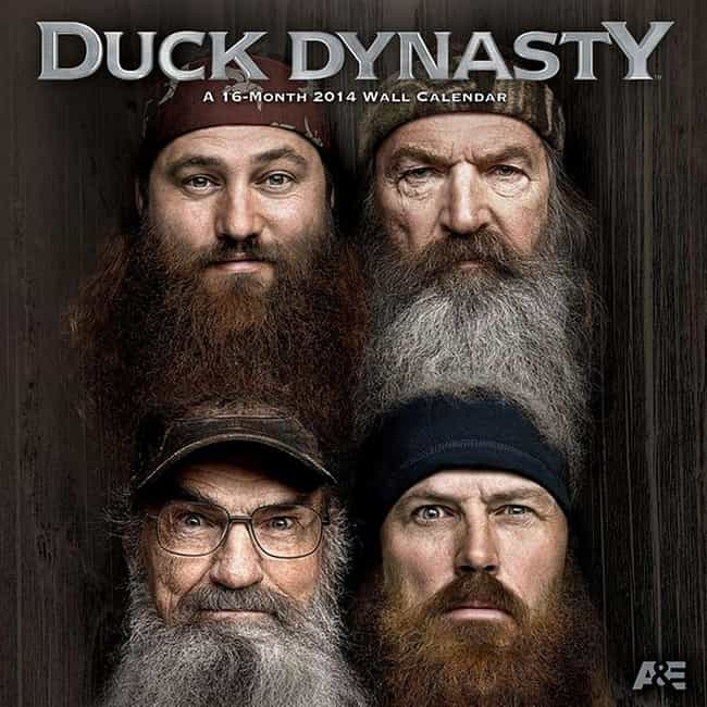 Duck Dynasty is listed (or ranked) 2 on the list The Worst Shows Your Boyfriend Makes You Watch