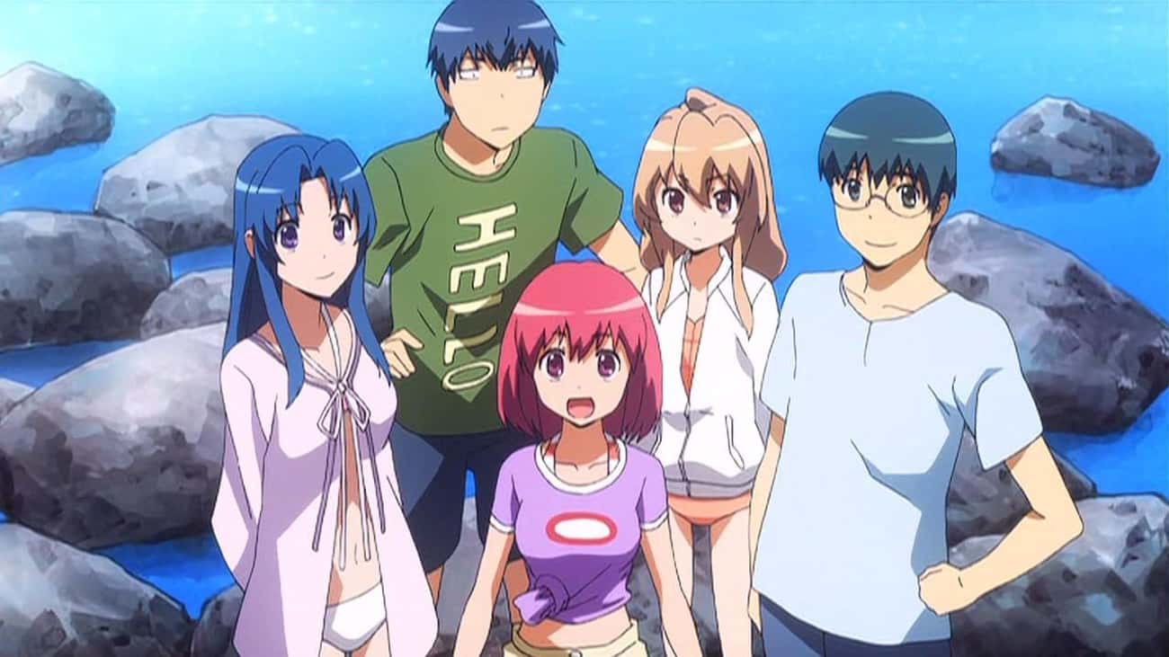 Toradora! is listed (or ranked) 4 on the list The Best Slice of Life Anime