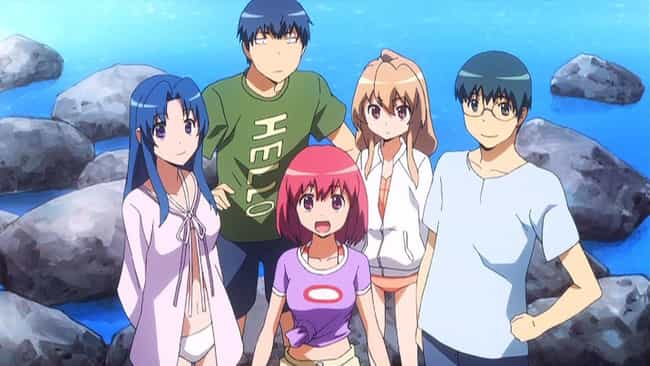 Toradora! is listed (or ranked) 3 on the list The Best Slice of Life Anime