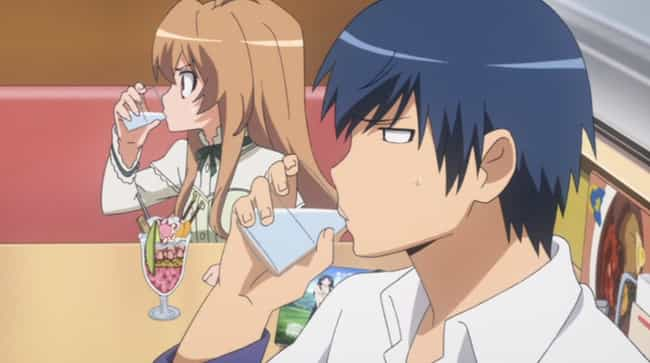 Toradora! is listed (or ranked) 3 on the list The 15 Best Romance Anime Dubs