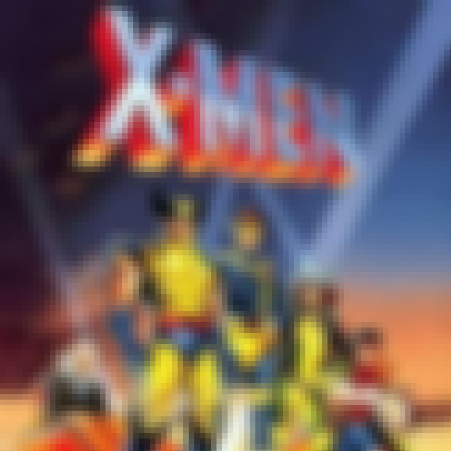 X-Men is listed (or ranked) 3 on the list The Top 10 Animated Comic Book Adaptation Superhero Shows
