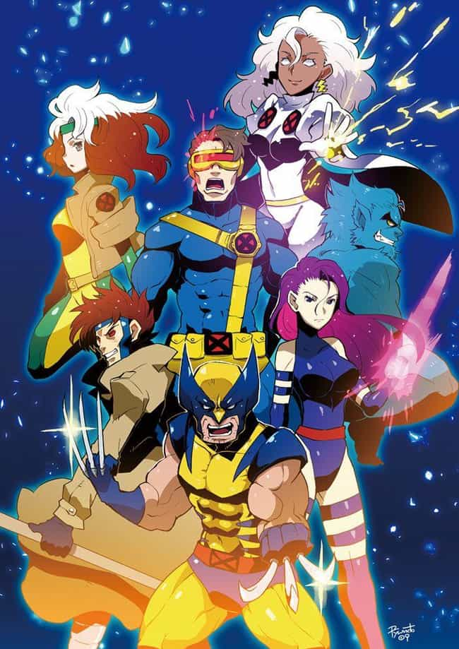 X-Men: The Animated Series is listed (or ranked) 2 on the list 23 Of Your Favorite Smash-Hit TV Franchises, Anime Style