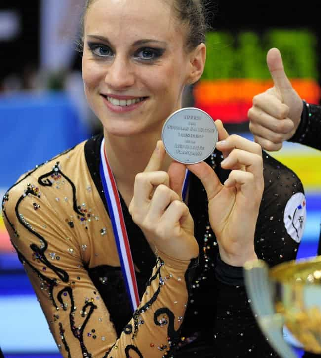 Delphine Ledoux is listed (or ranked) 4 on the list Famous Gymnasts from France